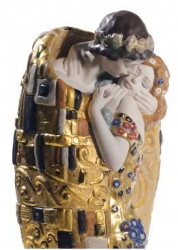 """Lladrò Statua """" Il Bacio Di Klimt"""""""